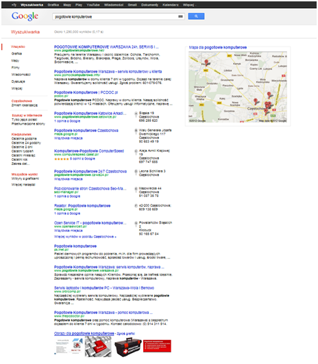 Wyniki wyszukiwań